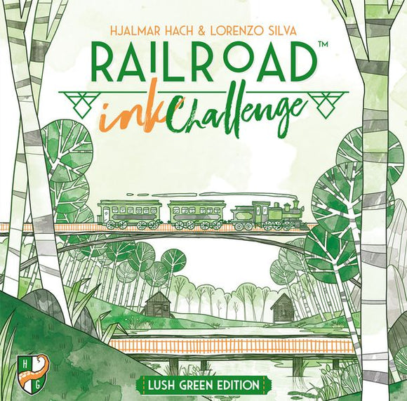 Railroad Ink Challenge: Lush Green Edition