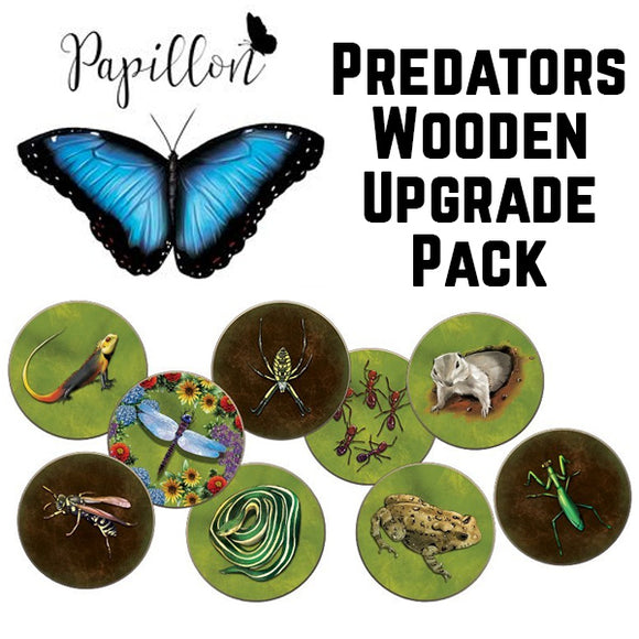 Papillon: Predators Wooden Upgrade pack