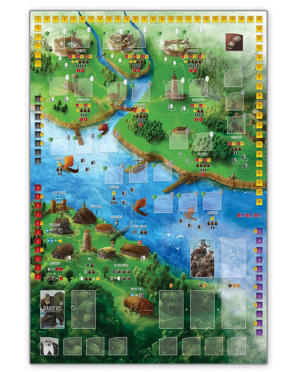 Raiders of the North Sea: Play Mat