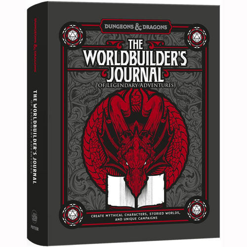 Dungeons & Dragons: The Worldbuilder's Journal of Legendary Adventures