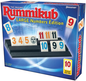Rummikub Game Large Numbers Edition
