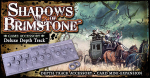 Shadows of Brimstone: Depth Track Accessory + Card Mini-Expansion