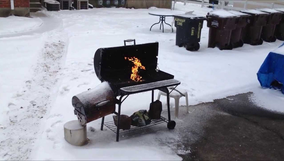Heavy Duty BBQ Grill: How To BBQ in Winter Or The Garden