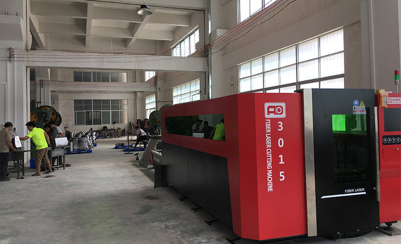 Factory Grill Fiber Laser Cutting Machine