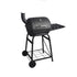 Trolley Barrel Charcoal BBQ Grill with Chimney