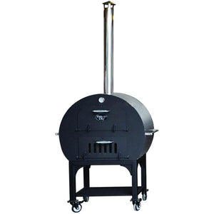 Outdoor Black Charcoal Wood Fired Pizza Oven