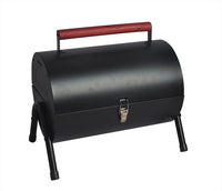 Small Portable Barrel Barbecue Grill Outdoor