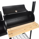 Commercial Charcoal BBQ Barrel Outdoor Grill