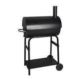 Classic Black Color Charcoal Barrel BBQ Grill