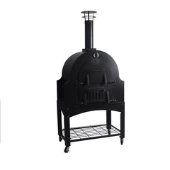 Outdoor Commercial Mobile Wood Fired Pizza Oven