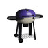 Purple Portable Wood Pizza Oven with Side Table