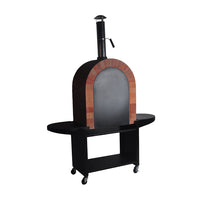 Terracotta Stone Wood fired Pizza Oven Stand Kit