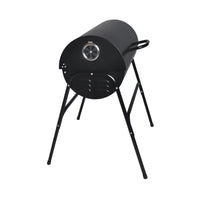Oil Drum Charcoal Barrel BBQ Grill