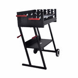 H Shape Height Adjustable Simple Barbecue Grill