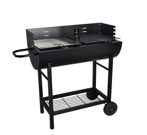 Large Height Adjustable Charcoal BBQ Patio Grill