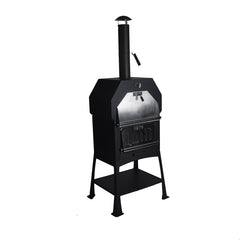 Home Cheap Bakery Wood Fried Pellet Pizza Oven