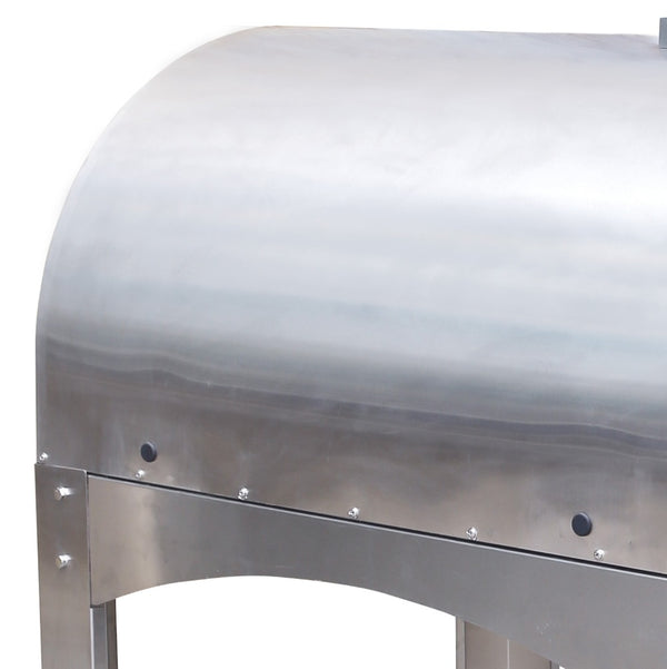 Professional Stainless Steel Woodfire Pizza Oven