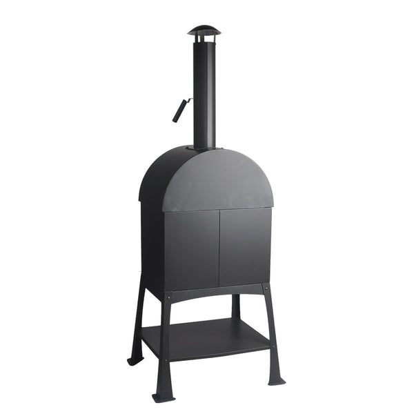 Small Wood Fired Pellet Pizza Oven with Chimney