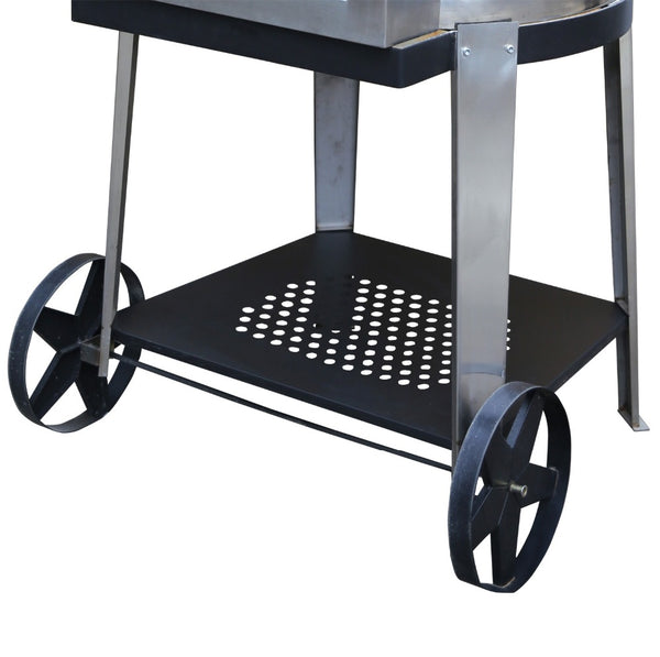 Trolley Stainless Steel Wood Fired Pizza Oven