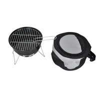 Mini Portable Charcoal BBQ Grill  with Cooler Bag