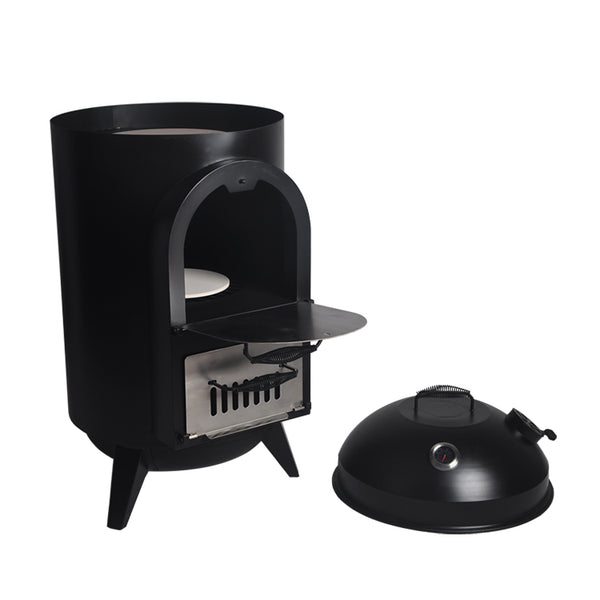 Home Outdoor Barrel Small Wood Fired Pizza Oven