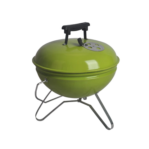 Mini Portable Green Kettle Charcoal BBQ Grill
