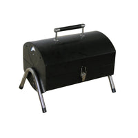 Folding Small Tabletop Charcoal Barrel BBQ Grill