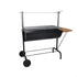 Huge Hanging Height Adjustable Charcoal Grill