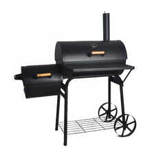 Best Large Charcoal BBQ Grill with Offset Smoker