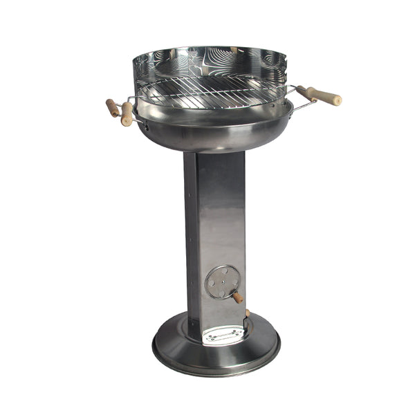 Stainless Steel Outdoor Round Charcoal BBQ Grill