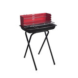 Folding Leg Height Adjustable Charcoal BBQ Grill