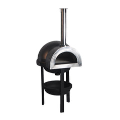 Dome Stainless Steel Wood Fire Baking Pizza Oven