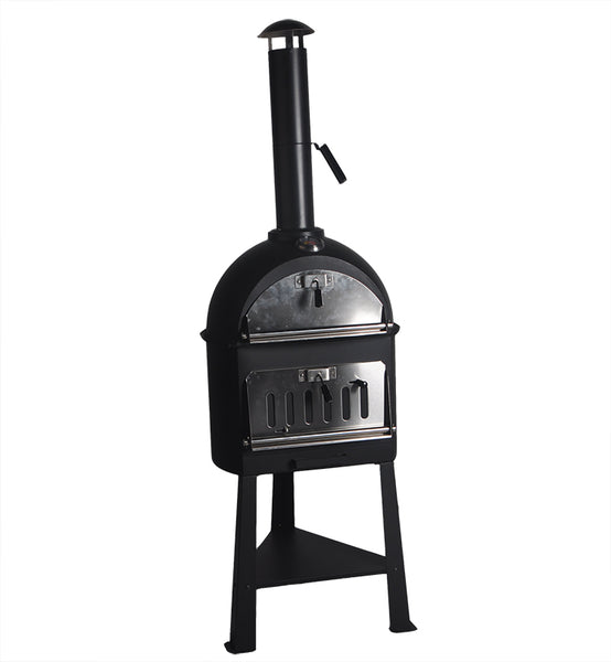 Triangular Legs Charcoal Wood Fired Pizza Oven