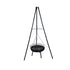 Vertical Height Adjustable Tripod BBQ Grill