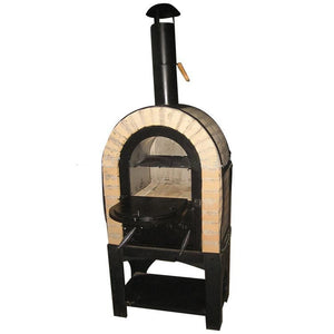 Brick Bake Bread Charcoal Wood Fired Pizza Oven