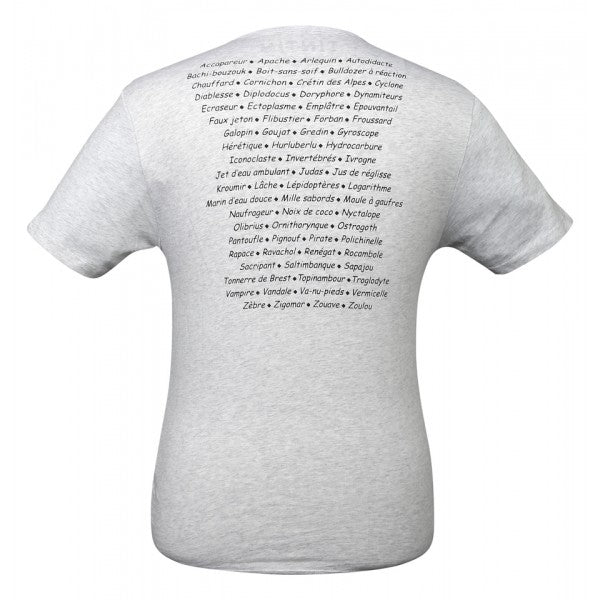 T-SHIRT ADULTS - HADDOCK SWEARWORDS