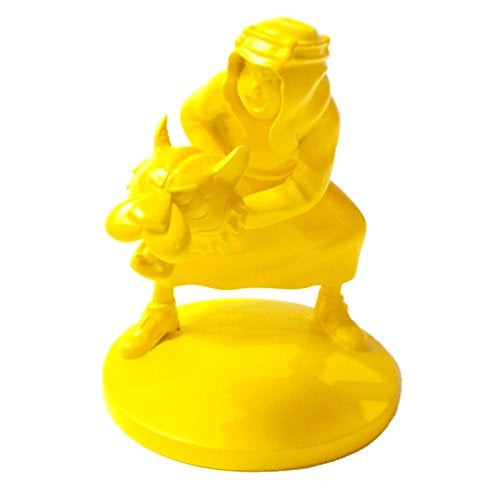 RESIN FIGURINE - ABDALLAH MONCROME YELLOW