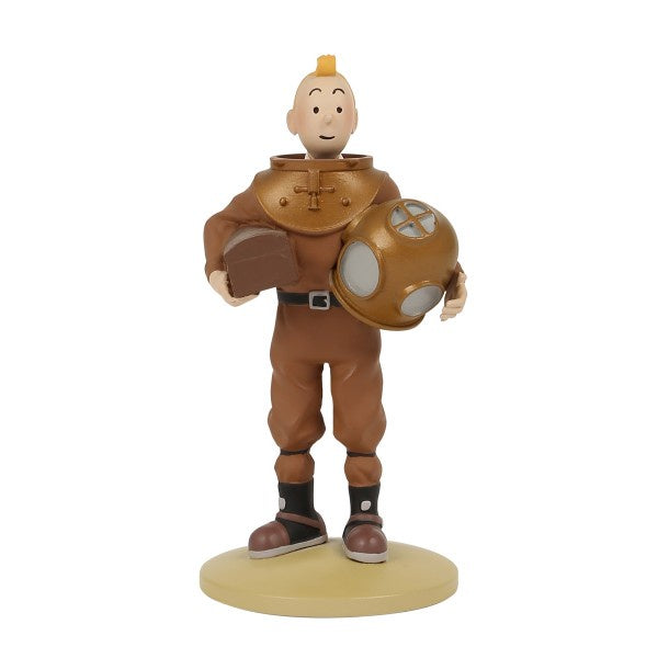 RESIN FIGURINE - TINTIN DIVING SUIT