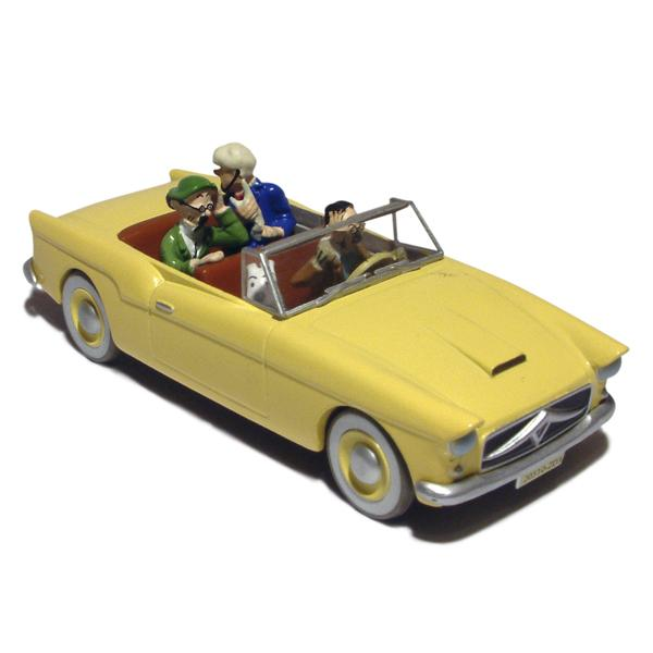 TINTIN CARS - THE BORDURY'S MERCEDES