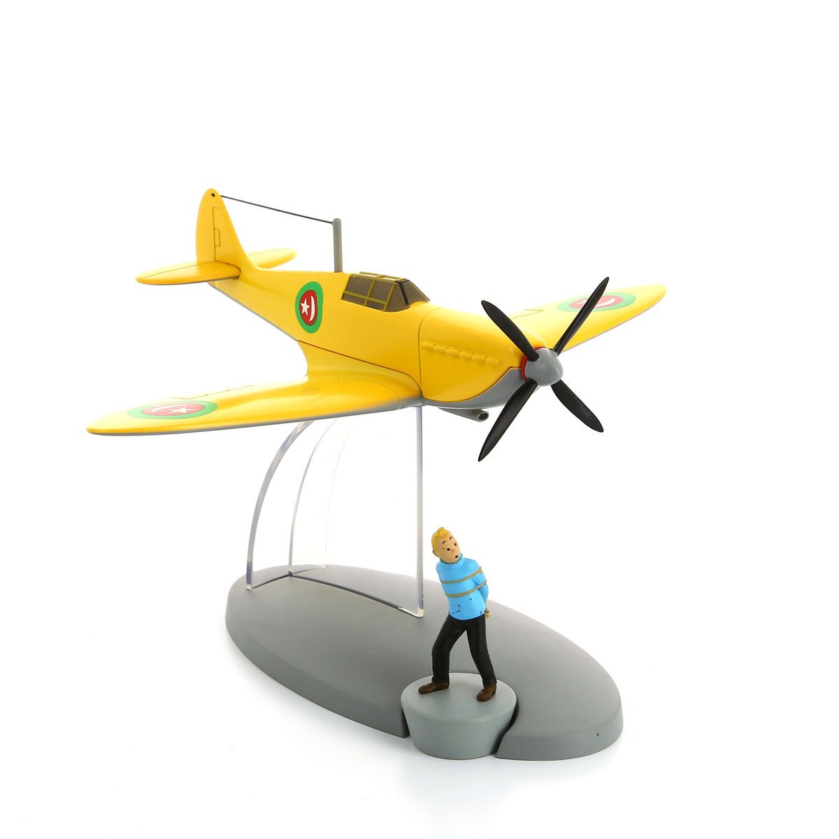 TINTIN AIRCRAFT - #29 EMIR YELLOW PLANE