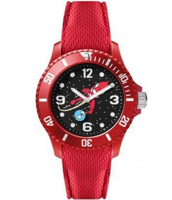 TINTIN WATCH - MOON ROCKET RED S