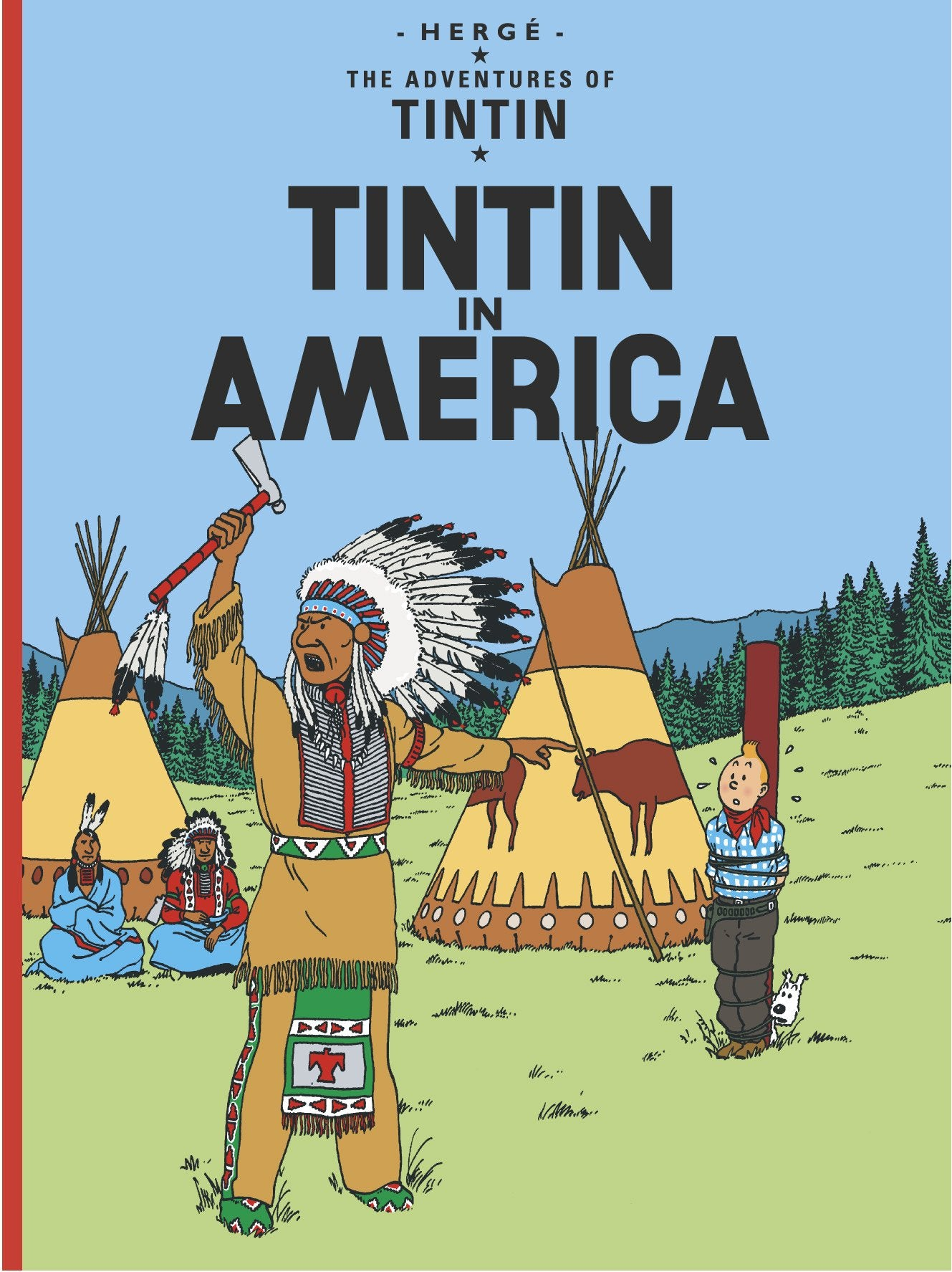 ENGLISH ALBUM #03 - TINTIN IN AMERICA