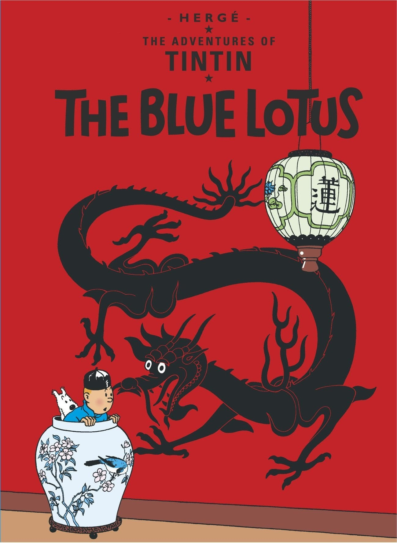 ENGLISH COVER POSTCARD - BLUE LOTUS