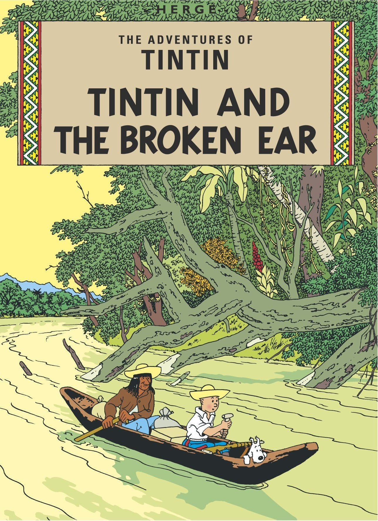 ENGLISH COVER POSTCARD - BROKEN EAR