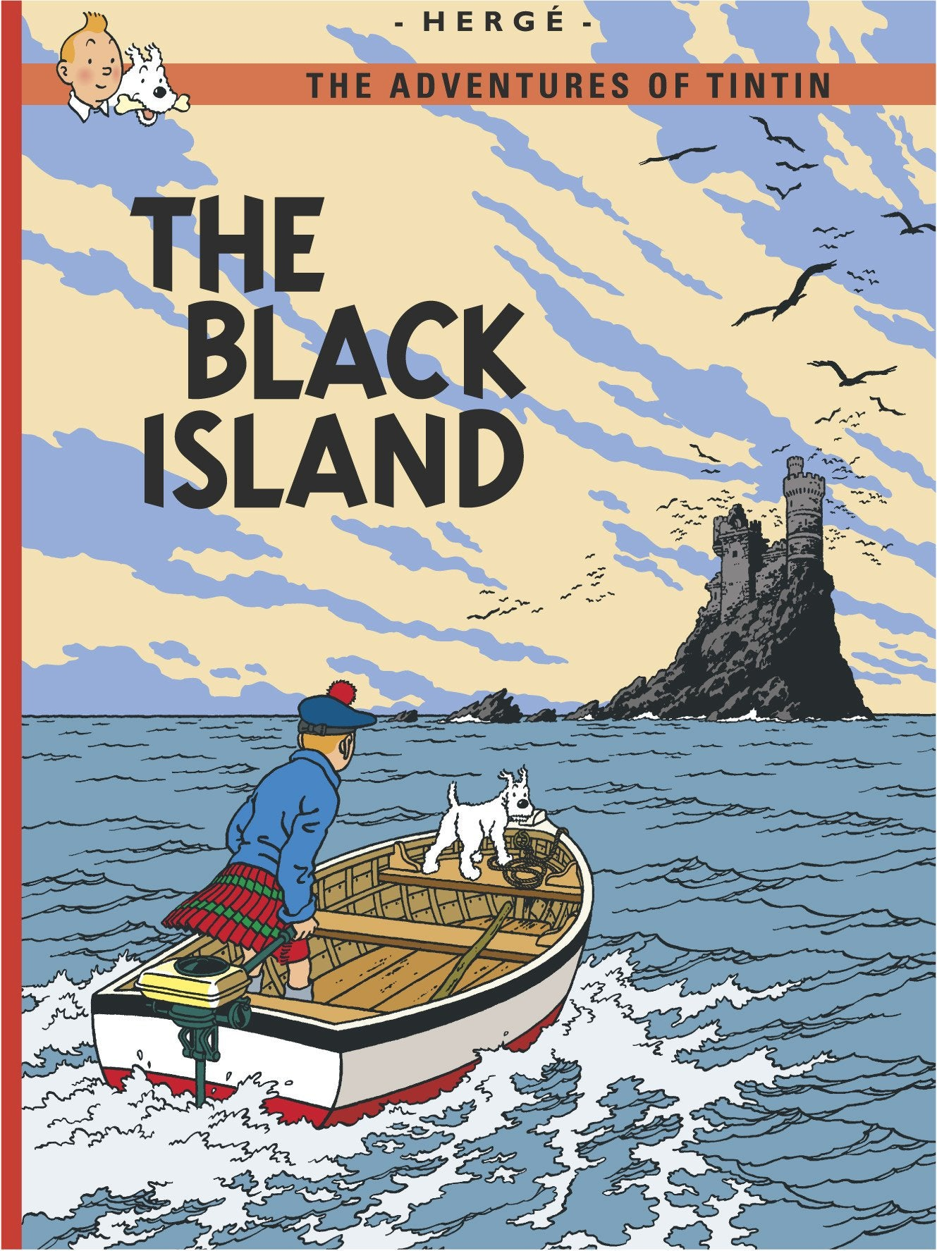 ENGLISH COVER POSTCARD - BLACK ISLAND