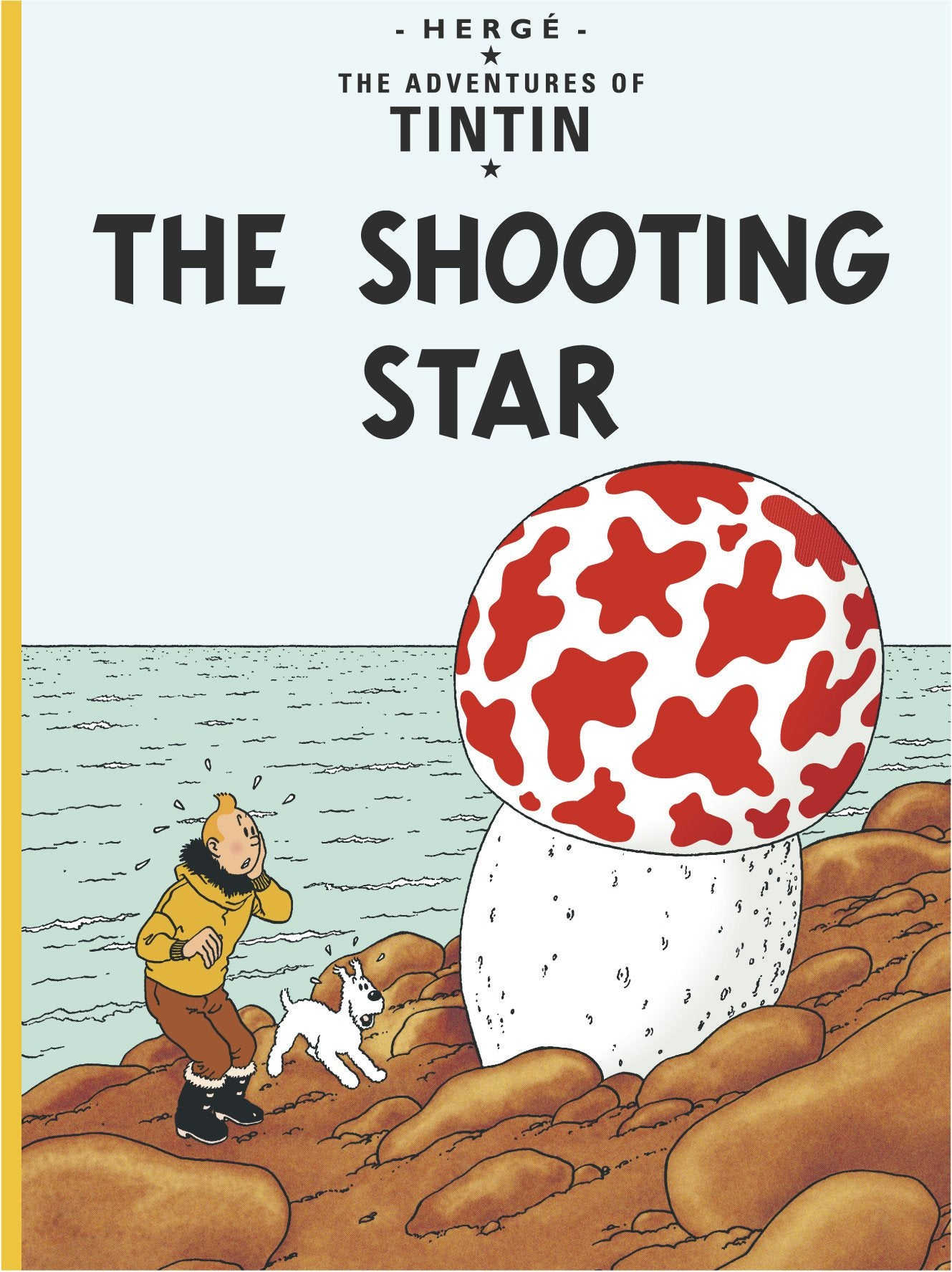 ENGLISH COVER POSTCARD - SHOOTING STAR