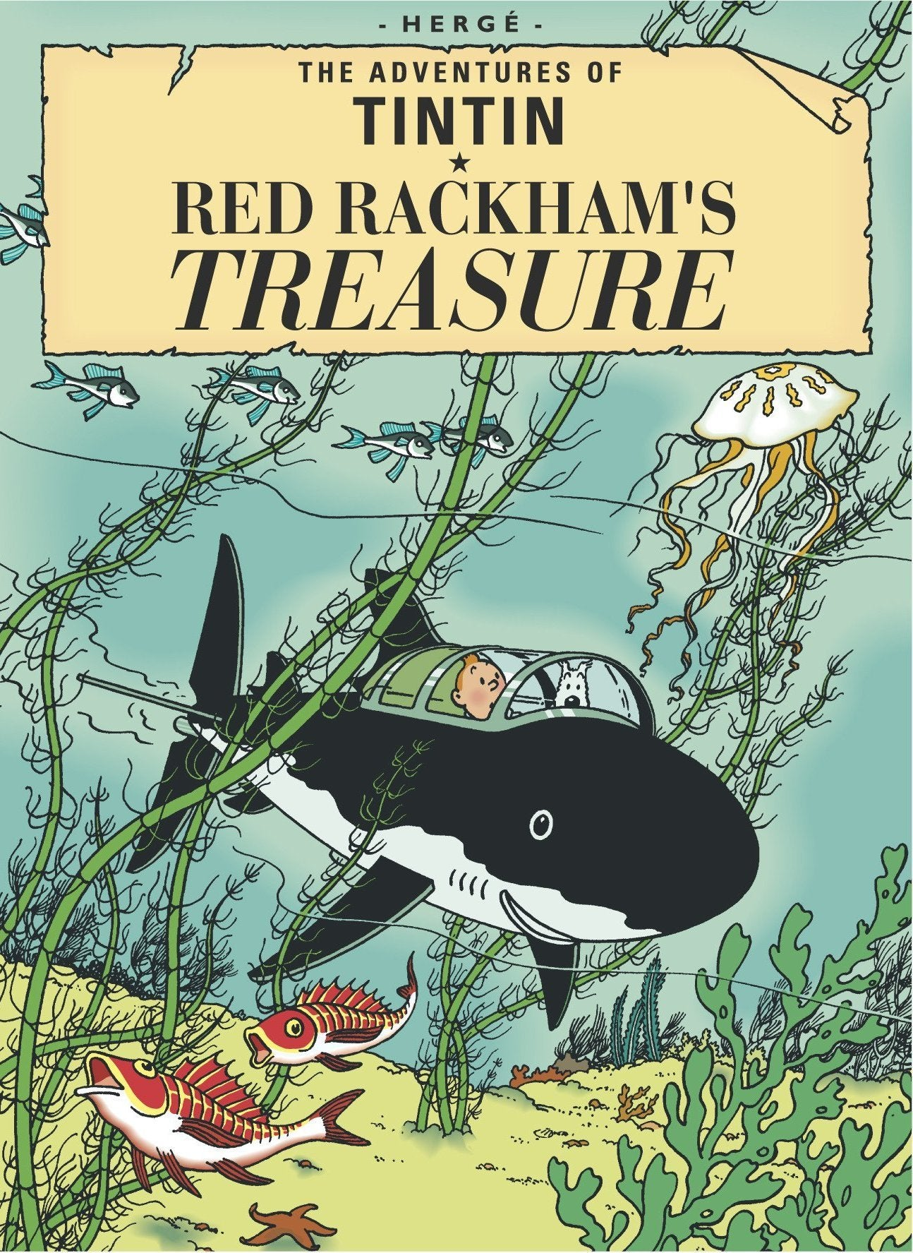 ENGLISH COVER POSTCARD - RED RACKHAM'S TREASURE