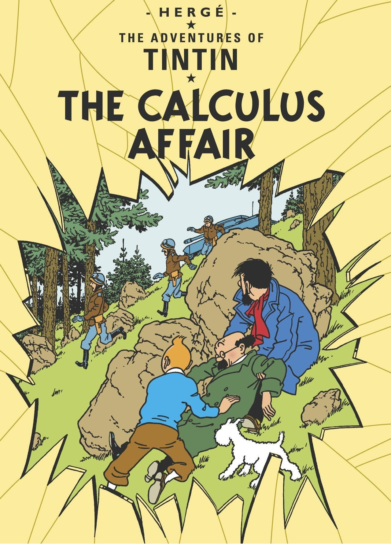 ENGLISH COVER POSTCARD - CALCULUS AFFAIR