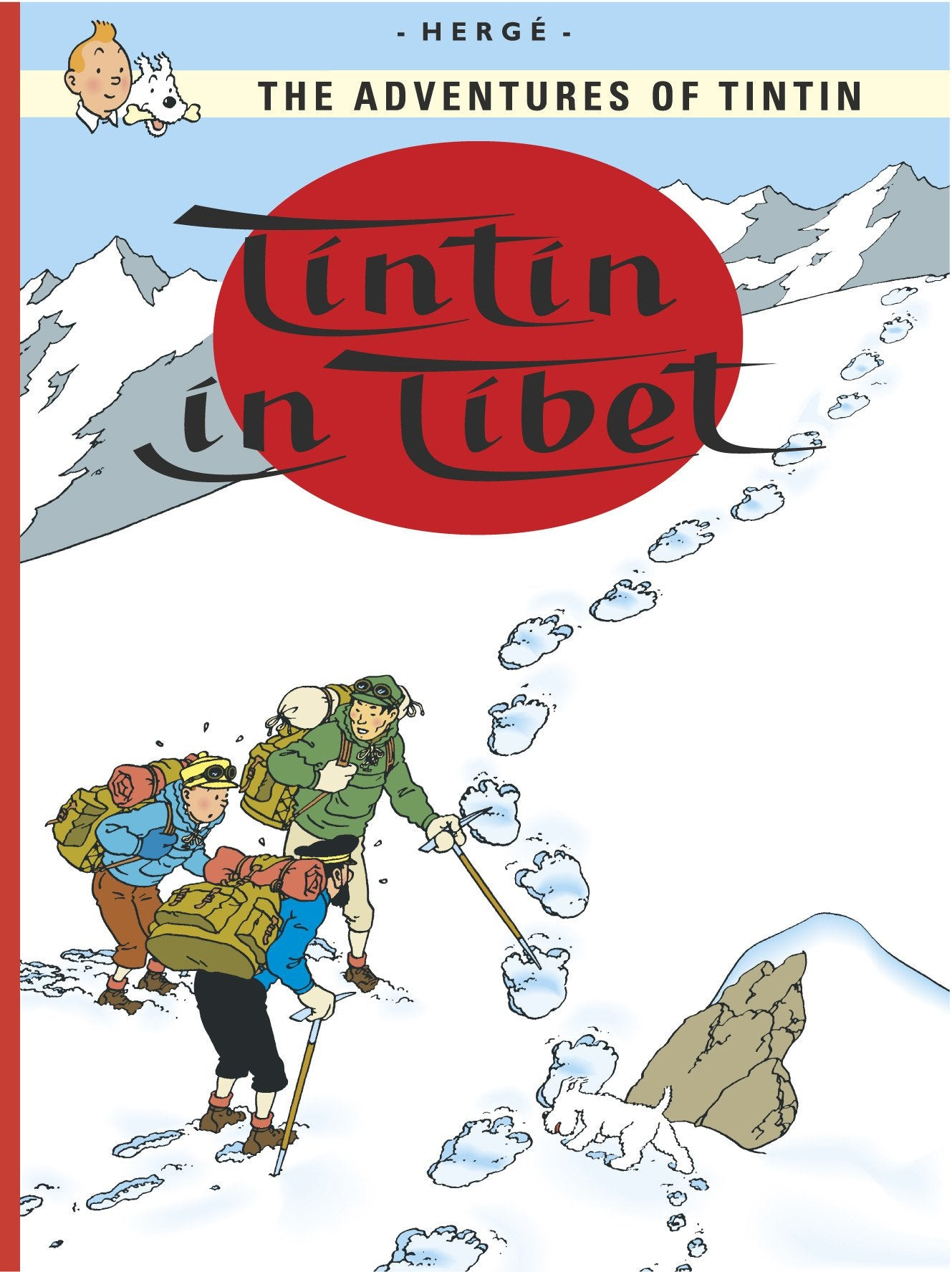 ENGLISH ALBUM #20 - TINTIN IN TIBET