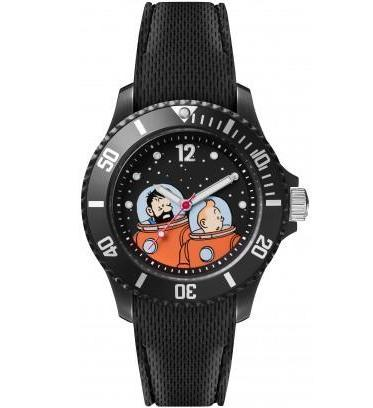 TINTIN WATCH - MOON TINTIN & HADDOCK S